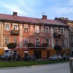 Dach budynku do malowania